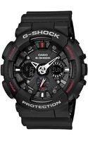 G-shock Mens Analog Digital Matte Black Resin Strap Watch - Lyst