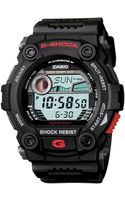 G-shock Mens Black Resin Strap Watch - Lyst
