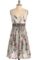 ModCloth Paisley Days Of Summer Dress - Lyst