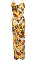 Zero + Maria Cornejo Alexia Printed Linen Dress - Lyst