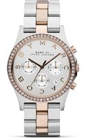 Marc By Marc Jacobs Stainless Steel Glitz Watch 40 Mm - Lyst