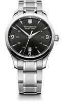 Victorinox Swiss Army Alliance Black Dial Watch 40mm - Lyst