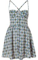 Topshop Native Cupped Sun Dress - Lyst