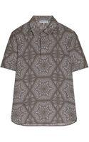 Jonathan Saunders Pattern Short Sleeve Shirt - Lyst