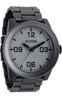 Nixon The Corporal Bracelet Watch - Lyst