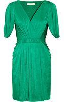 BCBGMAXAZRIA Draped Jersey Wrapeffect Dress - Lyst