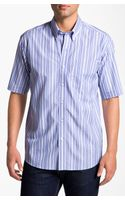 Cutter & Buck Beach Access Stripe Sport Shirt - Lyst