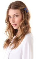 Marc By Marc Jacobs Marc Script Hairclip Set - Lyst