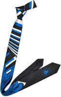 Versace Medusa Logo Silk Narrow Tie - Lyst