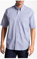 Cutter & Buck West Sound Check Sport Shirt - Lyst