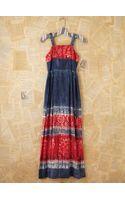 Free People Vintage Patriotic Tie Dye Maxi Dress - Lyst