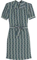 Missoni Printed Short Sleeve Dress - Lyst