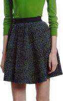 Proenza Schouler Tweed Stripe Skirt - Lyst