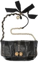 Lanvin Studded Python Happicolo Bag - Lyst