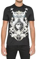 Givenchy Angel Crest Slim Fit Jersey Tshirt - Lyst