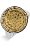 Anna Beck Gili Circle Ring - Lyst