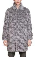 MSGM Wool Mohair Fur Coat - Lyst