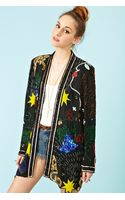 Nasty Gal Just Beaded Jacket - Lyst