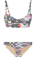 Mara Hoffman Maya Printed Underwired Bikini - Lyst