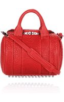 Alexander Wang Rockie in Cayenne Pebble Lamb with Black Nickel - Lyst