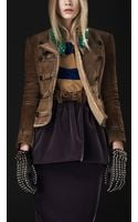 Burberry Prorsum Bead Embroidery Military Jacket - Lyst