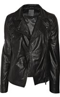 Lot78 Zoe Leather Biker Jacket - Lyst