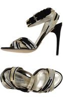 Dolce & Gabbana High Heeled Sandals - Lyst