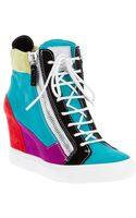 Giuseppe Zanotti Hidden Wedge Sneaker - Lyst