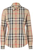 Burberry Brit New Classic Checked Shirt - Lyst