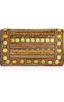 Matthew Williamson Embellished Suede Clutch - Lyst