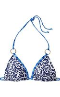 Old Navy Mixed Print Ring Bikini Top - Lyst