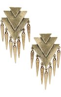Topshop Arrows and Spike Earrings - Lyst
