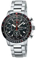 Seiko Mens Solar Chronograph Stainless Steel Bracelet Watch  - Lyst