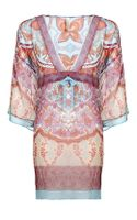 Gottex Printed Silk Chiffon Kaftan - Lyst