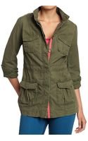 Old Navy Drawstring Military Jackets - Lyst