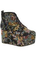 Asos Asos Vita Flatform Ankle Boots - Lyst
