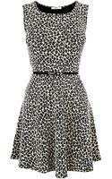 Oasis Oasis Animal Jacquard Dress Multi - Lyst