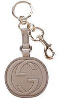 Gucci Leather Key Charm - Lyst