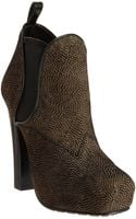 Proenza Schouler Speckled Platform Ankle Boot - Lyst