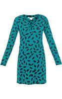 Diane Von Furstenberg Reina Tunic Dress - Lyst