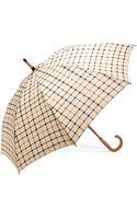 Brooks Brothers Tattersall Umbrella - Lyst