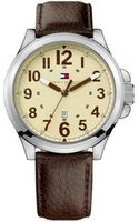 Tommy Hilfiger  Leather Strap Watch - Lyst