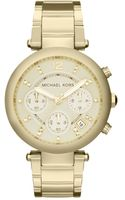 Michael Kors Womens Chronograph Parker Gold Tone Stainless Steel Bracelet 39mm - Lyst