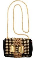 Christian Louboutin Mini Sweet Charity Spikes Bag - Lyst