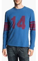 Red Jacket American Needle Ya Tittle Bulldog Long Sleeve Tshirt - Lyst