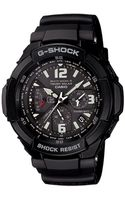 G-shock  Analog Digital Aviation Black Resin Strap Watch - Lyst