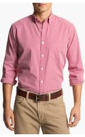 Brooks Brothers Slim Fit Dress Shirt - Lyst