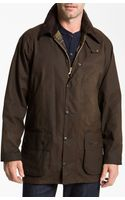 Barbour Classic Beaufort Waxed Cotton Jacket - Lyst