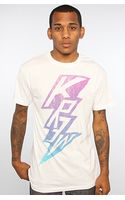 Kr3w The Volt Premium Tee in White - Lyst