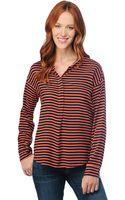 Splendid Long Sleeve Striped Shirting - Lyst